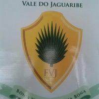 Photo taken at Faculdade do Vale do Jaguaribe FVJ Núcleo de Crato by Alice S. on 7/25/2013