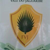 Photo taken at Faculdade do Vale do Jaguaribe FVJ Núcleo de Crato by Alice S. on 7/29/2013