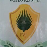 Photo taken at Faculdade do Vale do Jaguaribe FVJ Núcleo de Crato by Alice S. on 8/8/2013