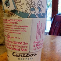 Photo taken at Caribou Coffee by Zuzu M. on 10/23/2012