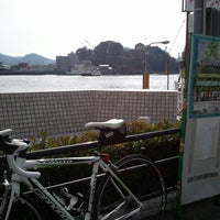 Photo taken at 福本渡船 向島側フェリーのりば by ya2 on 1/20/2013