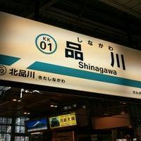 Photo taken at Keikyu Shinagawa Station (KK01) by ya2 on 12/20/2012