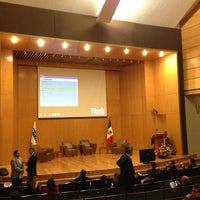 Photo taken at Instituto Tecnológico Autónomo de México by Juan L. on 8/23/2013
