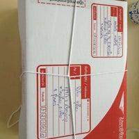 Photo taken at Khon Kaen Post Office by Ronnasit K. on 10/29/2012
