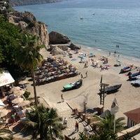 Photo taken at El Salón Beach by Sebastiano B. on 9/11/2013