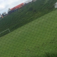 Photo taken at Campos De Futbol Las Minas by Fer N. on 9/5/2015