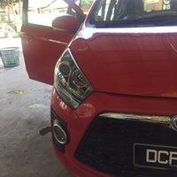 Photo taken at DarulNaim Automatic car wash by Hakimi Z. on 9/29/2016