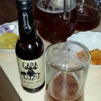 3/13/2014 tarihinde Mehmet Ş.ziyaretçi tarafından Gara Guzu Brewery'de çekilen fotoğraf