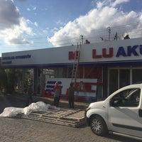 Photo taken at Aksular Mutlu Akü Plaza by Alper F. on 10/2/2015