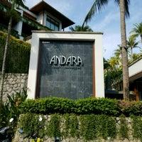 Photo taken at Andara Resort Villas Phuket by Terence F. on 4/16/2017