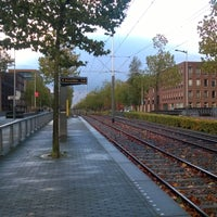 Photo taken at Tramhalte Vennepluimstraat by Peter A. on 11/6/2016