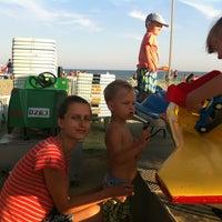 Photo taken at Пляж by Roman V. on 9/4/2015