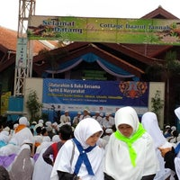 Photo taken at Pondok Pesantren Daarut Tauhiid by Lili J. on 7/22/2013