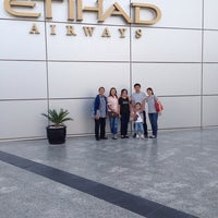 Photo taken at Abu Dhabi International Airport Visitor Information Centre by Zach T. on 4/21/2014