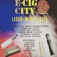 Photo taken at E-Cig City 3 by Murray J. on 9/7/2015