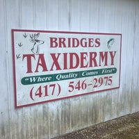 Photo taken at Bridges Taxidermy by Donald B. on 6/2/2013