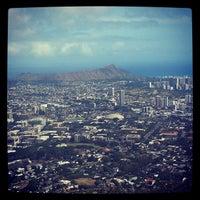 Photo taken at Puʻu Ualakaʻa State Park by Kendra W. on 7/24/2013