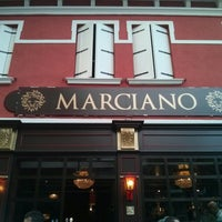 Photo taken at Marciano Pub by Simone F. on 9/11/2013