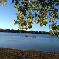 Photo taken at Lake Bonavista by Chilli B. on 9/17/2013