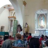 Photo taken at iglesia carmen by Eduardo E. on 6/23/2013