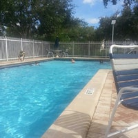 Photo taken at Country Walk Patio Pool by Me&Te on 9/26/2015