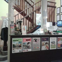 Photo taken at Garden House Hostel Barcelona by Feetup Hostels on 11/24/2013
