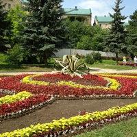 Photo taken at Цветник by Мария Б. on 7/17/2013