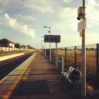 Photo taken at Dunboyne Train Station by Conor O. on 7/8/2013
