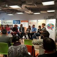 Photo taken at Impact Hub Bucharest by Ana R. on 4/12/2016