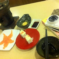 Photo taken at Sakae Sushi by Jassy on 3/6/2013