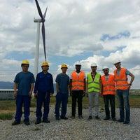 Photo taken at Bereket Enerji -Rüzgar Elektrik Santrali UŞAK by Hüsnü E. on 6/28/2016