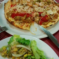 Photo taken at Pizzería Adria by Manuel S. on 8/8/2014