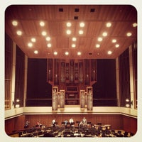 Photo taken at Music Building and Recital Hall (MRH) by Rod M. on 6/15/2013