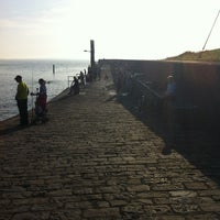 Photo taken at Enniscrone Pier by Pauline S. on 7/8/2013