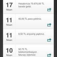 Photo prise au Garanti Bankası par Uğur K. le4/17/2014