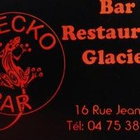 Photo taken at Gecko Bar by Michel W. on 8/25/2013