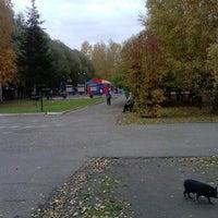 Photo taken at Парк, детская игровая площадка, аттракционы by Margarita N. on 10/1/2013