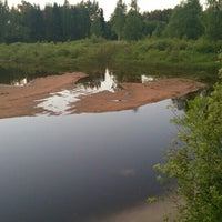 Photo taken at Плотина в Торошино by CONST🚧 on 6/16/2013