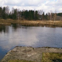 Photo taken at Плотина в Торошино by CONST🚧 on 9/12/2013