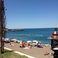 Photo taken at Kapuz Plajı by Berna A. on 7/23/2013