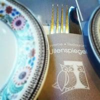 Photo taken at Restaurant Uilenspiegel by Elien V. on 9/23/2012