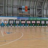 Photo taken at Sportski Centar Igalo by Nikola M. on 3/2/2014