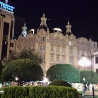 Photo taken at Gran Hotel Albacete by Manolico C. on 10/21/2013