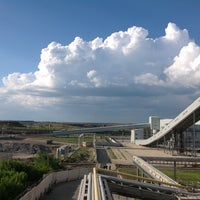 Photo taken at Cement Plant by Galina on 7/18/2013