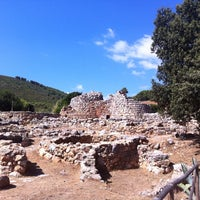 Photo taken at Nuraghe Palmavera by Patrizia S. on 8/20/2013