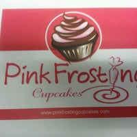 Photo taken at Pink Frosting Cupcakes by Edna H. on 4/19/2013