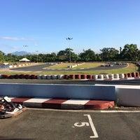 Photo taken at Kart Track by Nona Bernadette B. on 3/8/2015