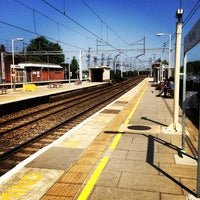 Photo taken at Bushey Railway Station (BSH) by Andrew W. on 6/6/2013