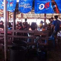 Photo taken at ริมเขื่อน (Rim Khuean Restaurant) by Nion ニ. on 4/15/2013