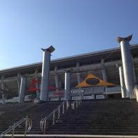 Photo taken at Nissan Stadium by Atsushi K. on 1/30/2013